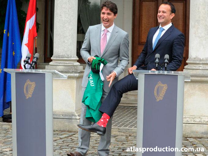 Канадец и Ирландец.